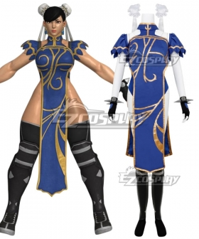 Street Fighter V Chun Li Training Cosplay Costume