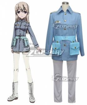 STRIKE WITCHES Eila·Ilmatar·Juutilainen Cosplay Costume