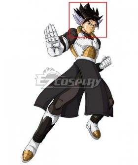 Super Dragon Ball Heroes Vegeks Xeno Black Purple Cosplay Wig