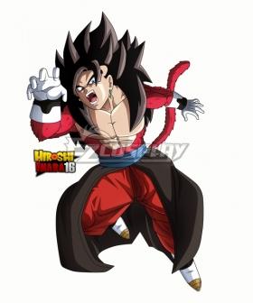Super Dragon Ball Heroes Vegetto Super Saiyan 4 Cosplay Costume