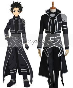 Sword Art Online ALfheim Online Kirito New Cosplay Costume