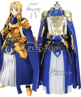 Sword Art Online Alicization SAO Alice Battle Suit Cosplay Costume