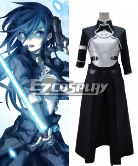 Sword Art Online II SAO Sodo Ato Onrain Gun Gale Online GGO Kirigaya Kazuto Kirito Cosplay Costume