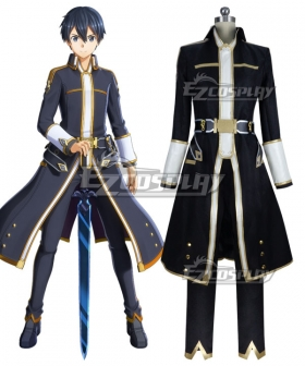 Sword Art Online SAO Alicization Lycoris Kirito Cosplay Costume - B Edition