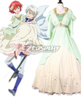 Snow White with the Red Hair Shirayuki Cosplay Costume