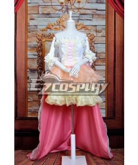 Macross Series  MF Ranka Wedding Dress Lolita Cosplay Costume