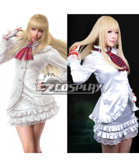 Tekken Lili White Dress Cosplay Costume