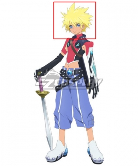 Tales of Destiny 2 Kyle Dunamis Golden Cosplay Wig