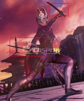 Scarlet Nexus  Luka Travers Cosplay Weapon Prop