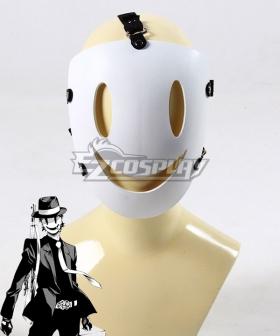 Tenkuu Shinpan Sniper Mask White Grim Reaper Makoto Yuuka Mask Cosplay Accessory Prop