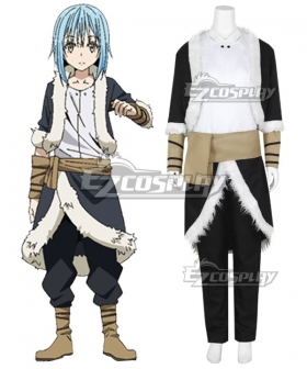 That Time I Got Reincarnated As A Slime Tensei Shitara Suraimu Datta Ken Rimuru New Cosplay Costume
