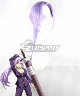 That Time I Got Reincarnated as a Slime Tensei Shitara Suraimu Datta Ken Shion Light Purple Cosplay Wig