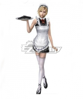 The 3rd Birthday Aya Brea Maid Cosplay Costume