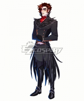 The Arcana Julian Devorak Black Cosplay Costume