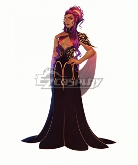 The Arcana Nadia Black Cosplay Costume