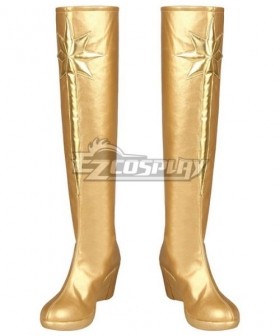 The Boys Starlight Golden Shoes Cosplay Boots