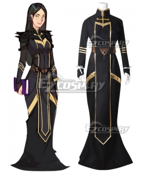 The Dragon Prince Claudia Dress Cosplay Costume