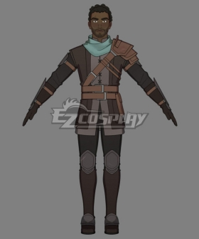 The Dragon Prince Corvus Cosplay Costume