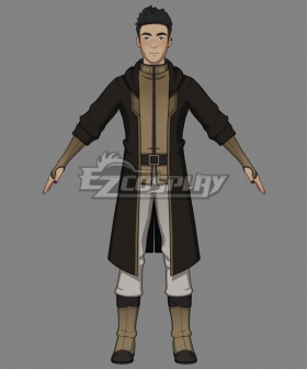 The Dragon Prince Crow Master Cosplay Costume
