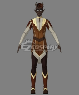 The Dragon Prince Kazi Cosplay Costume