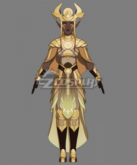 The Dragon Prince Khessa Cosplay Costume