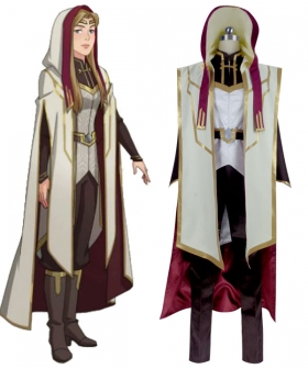 The Dragon Prince Opeli Cosplay Costume