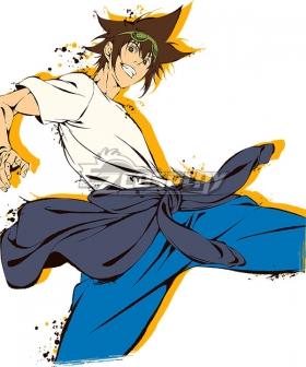 The God of High School Jin Mo-Ri Sun Wukong Cosplay Costume