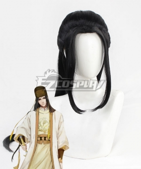 The Grandmaster Of Demonic Cultivation Mo Dao Zu Shi Jin Guangyao Black Cosplay Wig