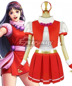 The King Of Fighters 97 KOF97 Athena Asamiya Cosplay Costume