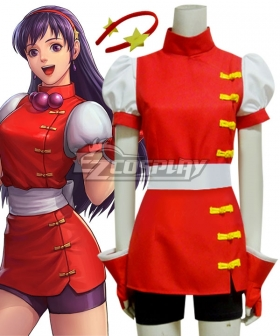 The King Of Fighters 98 KOF98 Athena Asamiya Cosplay Costume