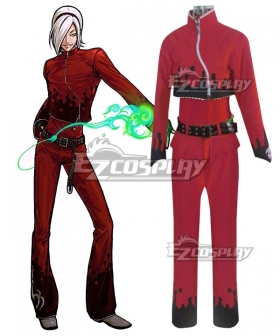 The King Of Fighters KOF Ash Crimson Cosplay Costume
