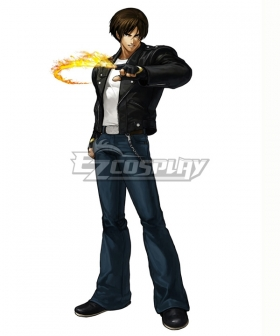 The King Of Fighters XIII KOF13 Kyo Kusanagi Cosplay Costume