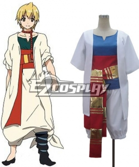 The Labyrinth of Magic Magi Alibaba Saluja Cosplay Costume - B Edition
