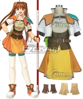 The Legend of Heroes Estelle Bright Sticks Cosplay Costume