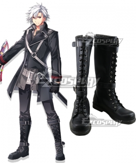 The Legend of Heroes: Trails of Cold Steel IV -THE END OF SAGA- Ⅳ Rean Schwarzer Black Cosplay Shoes