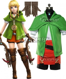 The Legend Of Zelda: Breath Of The Wild Hyrule Warriors Linkle Cosplay Costume