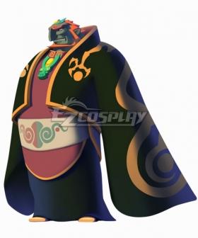 The Legend of Zelda The Wind Waker Ganondorf Cosplay Costume - No Brooch Accessories