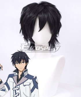 The Misfit of Demon King Academy Maou Gakuin Arnos Voltegourde Black Cosplay Wig