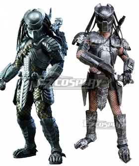 The Predator Halloween Cosplay Costume - Including Helmet and Shoes