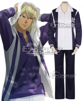 The Prince of Tennis II Higa Junior High Rin Hirakoba Eishiroh Kite Cosplay Costume
