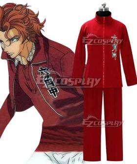 The Prince of Tennis II Rokkaku Junior High Amane Hikaru Cosplay Costume