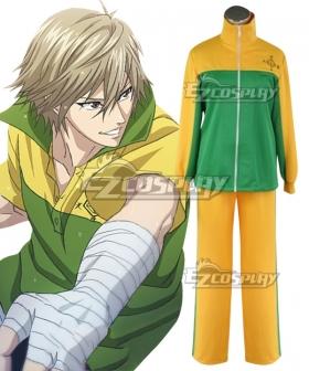 The Prince of Tennis II Shitenhohji Junior High Kuranosuke Shiraishi Cosplay Costume