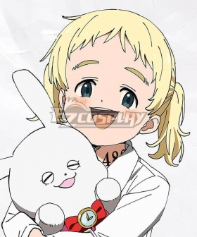The Promised Neverland Conny Golden Cosplay Wig