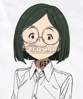 The Promised Neverland Gilda Dark Green Cosplay Wig
