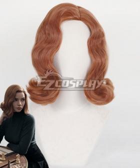 The Queen's Gambit Beth Harmon Brown Cosplay Wig