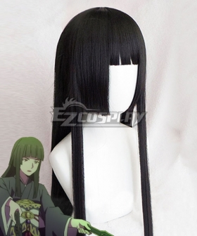 The Rising of the Shield Fan Hero Glass Black Cosplay Wig