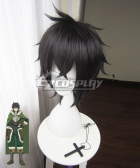 The Rising of the Shield Hero Naofumi Iwatani Black Cosplay Wig