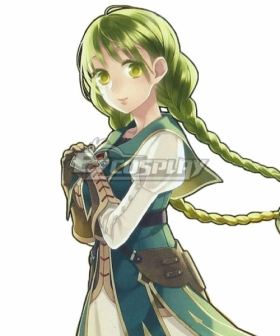 The Rising Of The Shield Hero Rishia Ivyred Green Cosplay Wig