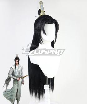 Scumbag System The Scum Villain's Self-Saving System Chuan Shu Zijiu Zhinan SVSSS Shen Qingqiu Black Cosplay Wig