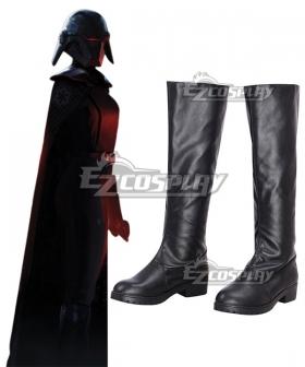 Star Wars Jedi: Fallen Order Trilla Suduri The Second Sister Black Shoes Cosplay Boots